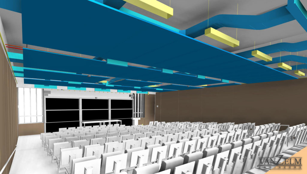Lecture Room with Radiant Panels